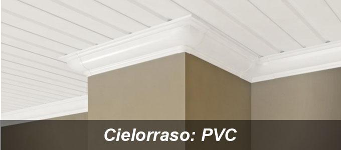 Cielorraso PVC